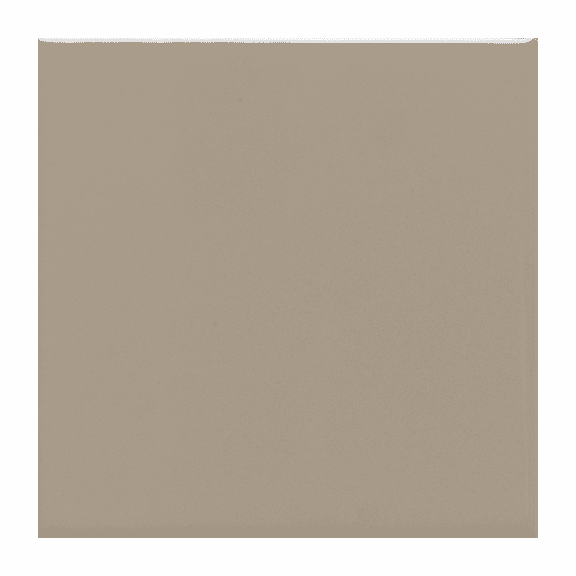 "Daltile Matte Uptown Taupe 4 1/4"" x 4 1/4"""