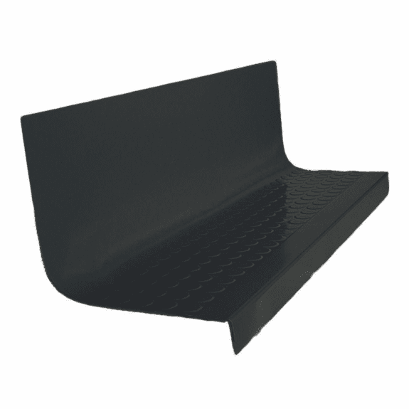 Flexco Heavy Duty Radial II Rubber Stair Tread with Riser 1701