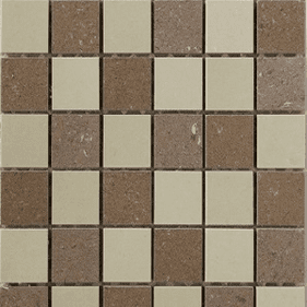 Interceramic Concrete 12 x 12 Random Mosaic B