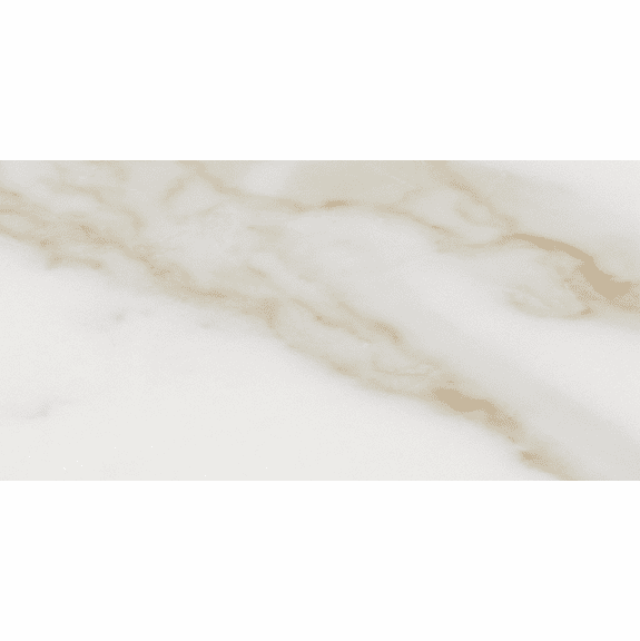 Interceramic Marble Calacatta Gold Polished 4 x 12