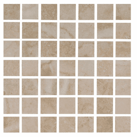 Interceramic Travertino Royal Ivory 16 x 16 Mosaic