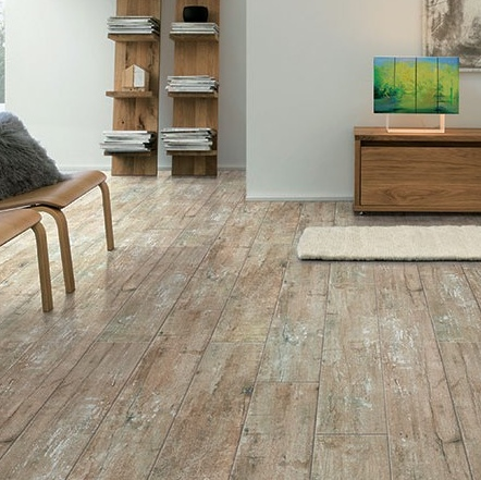 Rustic Wood Look Tile Flooring