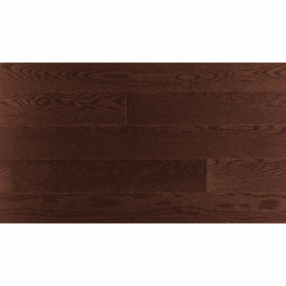 Mercier Red Oak Autumn Leaf  Distinction Solid 4 1/4