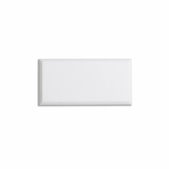 "Meridian Carrara White Marble Polished 3"" x 6"""