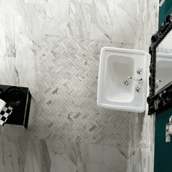 Milestone Epic Herringbone Mosaic Polished