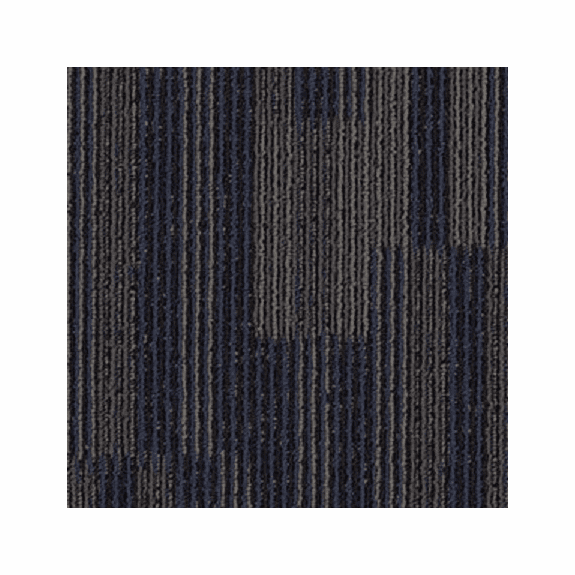 Aladdin Go Forward Indigo Batik Carpet Tile