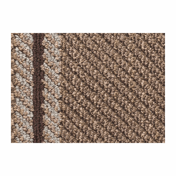 Mohawk  Selvedge Curvy Carpet Tile