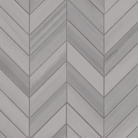 MSI Surfaces Watercolor Grigio Chevron Mosaic