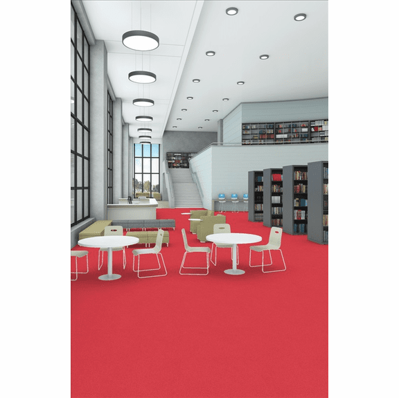 Patcraft Metallix Facet Anodized Red