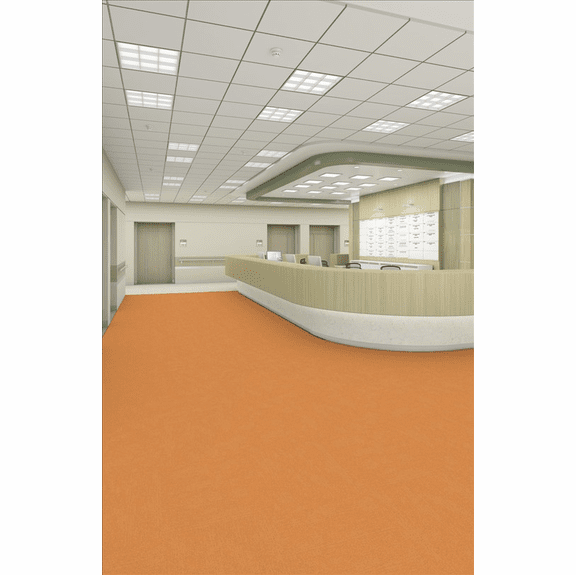 Patcraft Metallix Facet Molten Orange