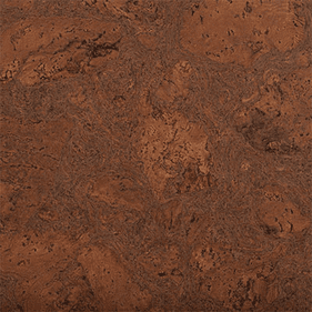 "QU-Cork Burl Chocolate Stain 12"" x 36"""