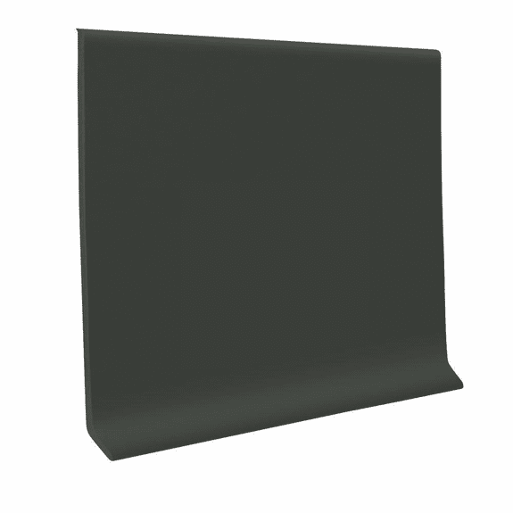 "Roppe 700  Wallbase Black Brown  4""x120' Roll"