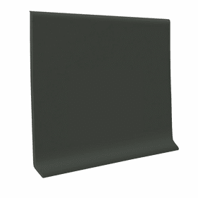 """Roppe 700  Wallbase Black Brown  4""""x120' Roll"""