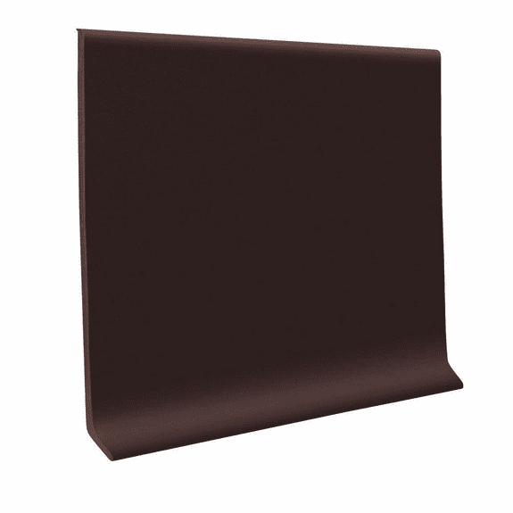 "Roppe 700  Wallbase Brown  4""x120' Roll"