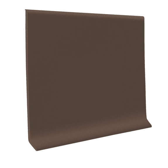 "Roppe 700  Wallbase Burnt Umber  4""x120' Roll"