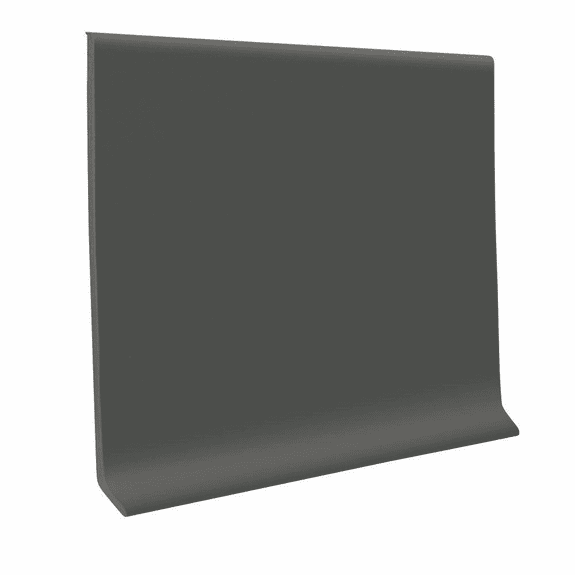 "Roppe 700  Wallbase Charcoal  4""x120' Roll"