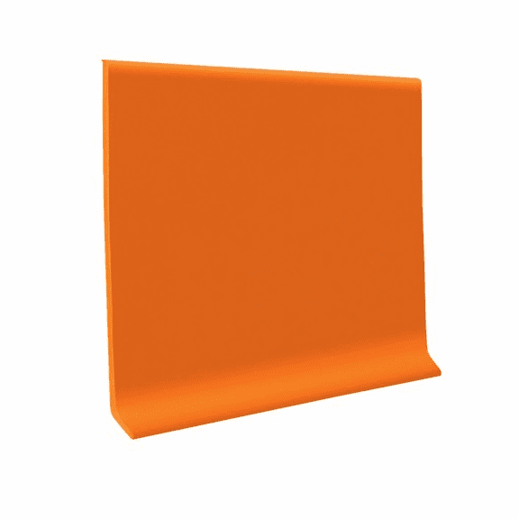 """Roppe 700  Wallbase Citrus  4""""x120' Roll"""