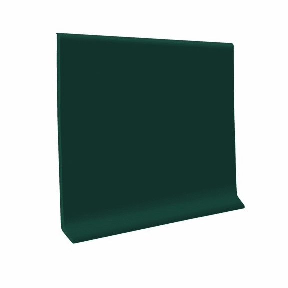 "Roppe 700  Wallbase Forest Green  4""x120' Roll"