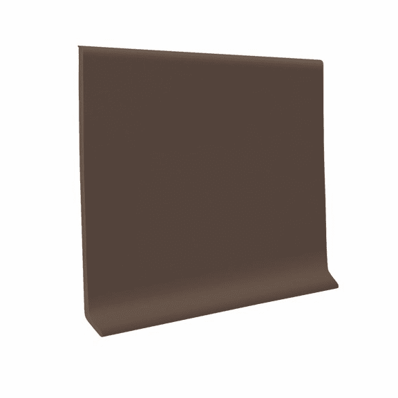 "Roppe 700  Wallbase Light Brown  4""x120' Roll"