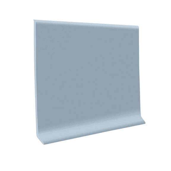 "Roppe 700  Wallbase Peaceful Blue  4""x120' Roll"