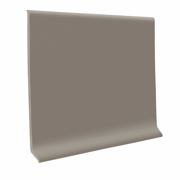 """Roppe 700  Wallbase Pewter  4""""x120' Roll"""