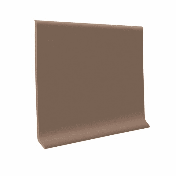 "Roppe 700  Wallbase Toffee  4""x120' Roll"