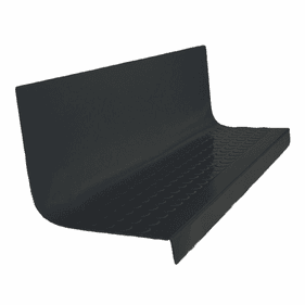 """Roppe Hammered Rubber Stair Tread w/Riser #95 60"""""""