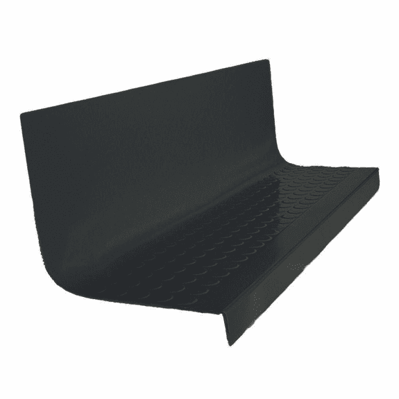 """Roppe Hammered Rubber Stair Tread w/Riser #95 72"""""""