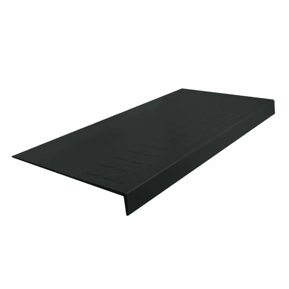 """Roppe Light Duty Ribbed Square Vinyl Stair Tread #16 48"""""""