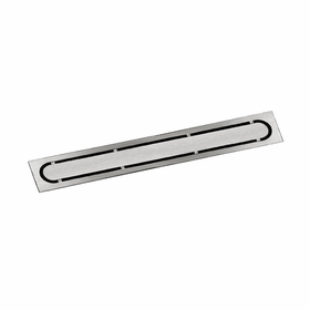 Schluter Brushed Design Stainless Steel Drain Cover - Pure
