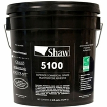 Shaw 5100 Commercial Carpet Tile Adhesive
