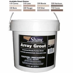 Shaw Vinyl Grout