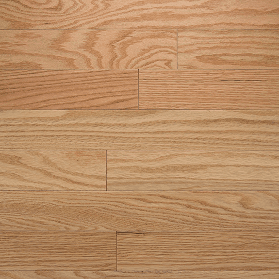 "Somerset Color Plank Natural Red Oak 3 1/4"" Engineered"
