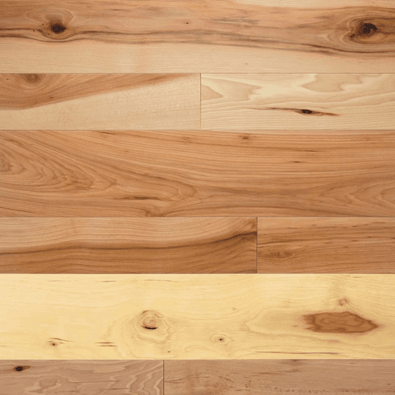 """Somerset Solid Character Plank Hickory 5"""" Solid"""