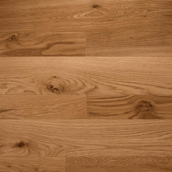 """Somerset Solid Character Plank White Oak 5"""" Solid"""