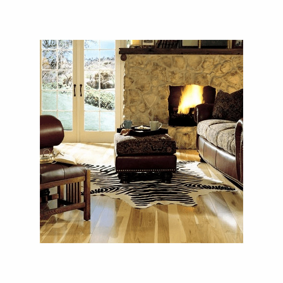 """Somerset Specialty Plank Hickory Natural 4"""" Solid"""