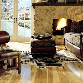 """Somerset Specialty Strip Hickory Natural 3 1/4"""" Engineered"""
