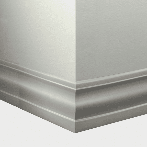 Tarkett Johnsonite Millwork Delineate Vapor Grey 4 1/2""