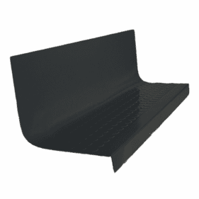 Tarkett Raised Round angle fit Rubber Stair Tread with Riser