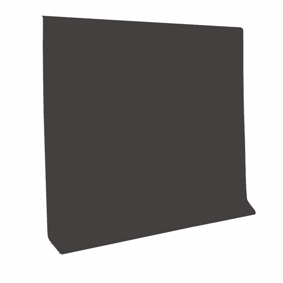 Tarkett Vinyl Wall Base Dark Brown 1/8 x 4 x120