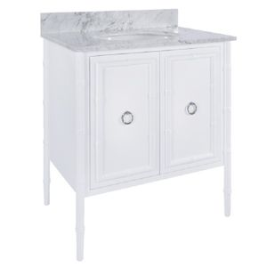 Bamboo Bath Vanity Lacquer Finish