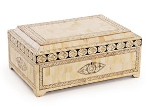 Carved Inlay Decorative Box