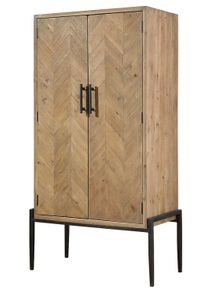 Chevron Bar Cabinet