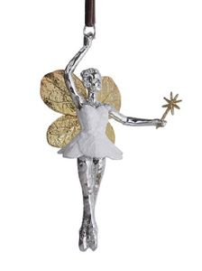 Michael Aram Botanical Leaf Fairy Ornament
