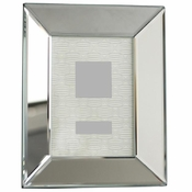 Beveled Mirror Photo Frame