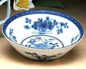 Blue Canton Cereal Bowl by Mottahedeh