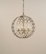 Catch a Ring Chandelier