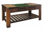 Coffee & Game Table with 6 Tops