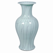 Crackle Celadon Vase