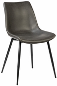 Faux Leather Side Chair
